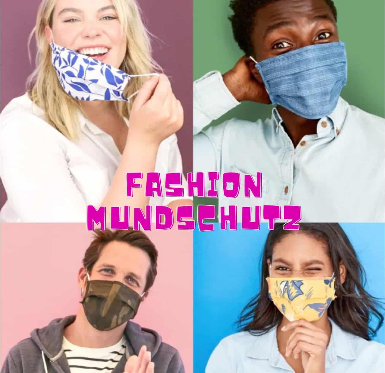 fashion designer mundschutz