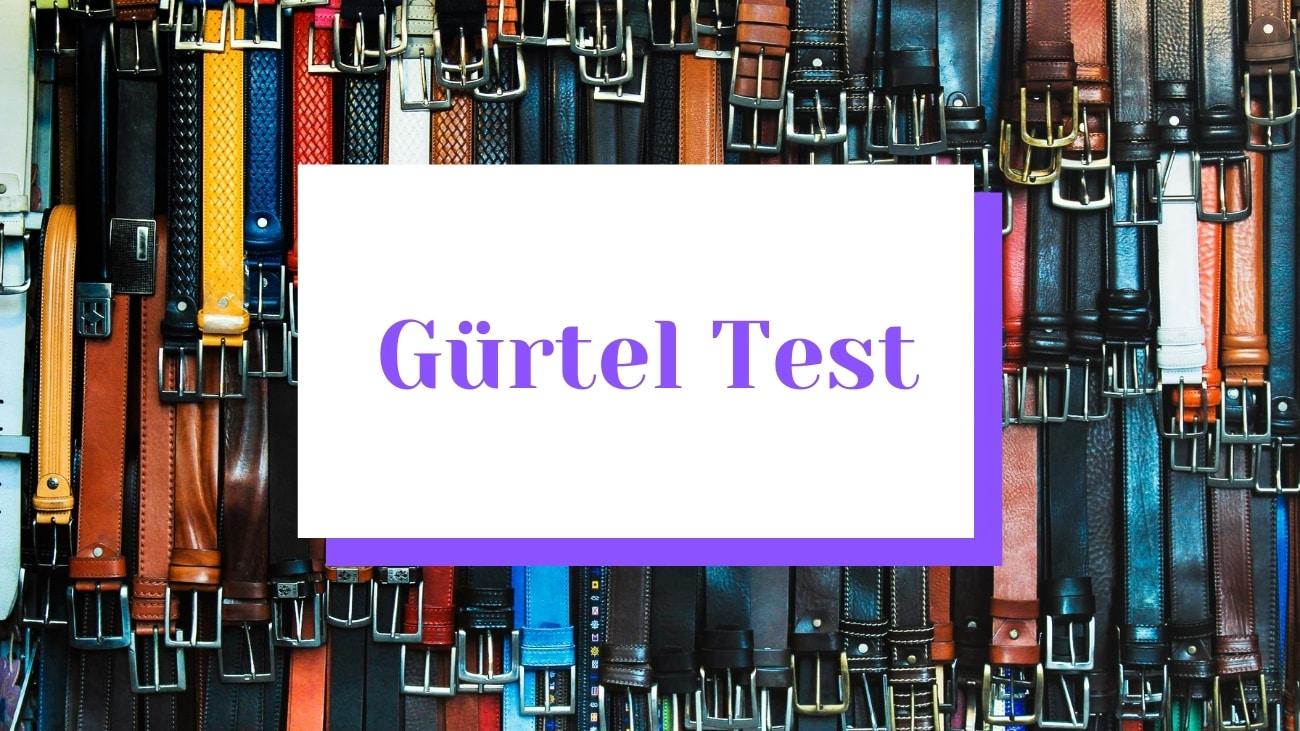 gürtel-test